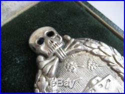 German WW I tank fight medal 1914-1945 award Juncker original award in case