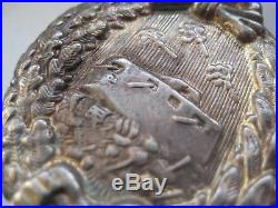 German WW I tank fight medal 1914-1945 award rare Godet original award antique