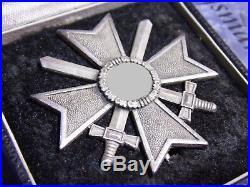 German War Merit Cross First Class medal WW2 in original case'65