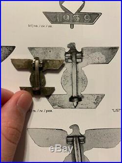 German World War 2 Medal/Clasp To The Iron Cross 1st Class 1939