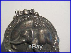 German elephant medal WW I colonies soldiers original badge for africa fights