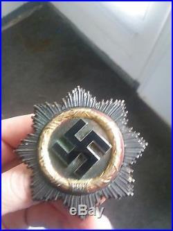 German gold cross THIRD riech ww2 medal