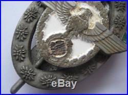 German mounty badge WW II medal Alpinist Gendarmerie rare medal original