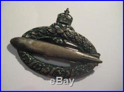 German old airship WW I award medal antique and rare 1914 1918 prussia rare