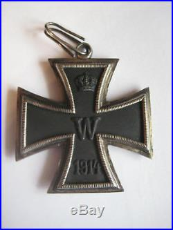Grand cross of knight cross iron cross medal WW I prussia 1914 silver cross rare