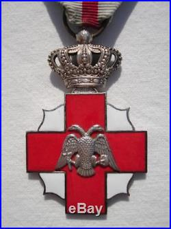 Greece Greek Royal Hellenic Red Cross Ww2 Medal By Kelaidis Original Ribbon Case