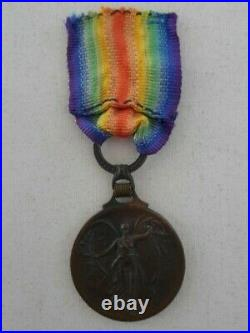 Greece, Greek inter-allied victory medal WW1 original ribbon