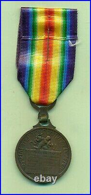 Greece Militaria Medal Ww1 Victory Medal 1914 -1918
