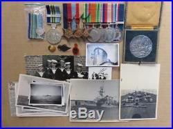 Hmas Sydney Ww2 Australian Medals Sinking Ship Italian Colleoni Medal & Photos