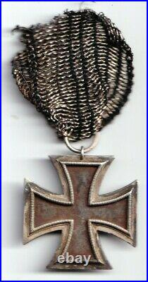 Imperial German Pre World War I 1813 2nd Class Iron Cross Medal