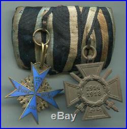 Imperial German World War I PRINZEN Pour Le Merite Blue Max Medal Bar