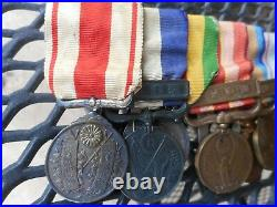 Japanese Imperial medal bar WW2 Manchukuo 1940 Census medal