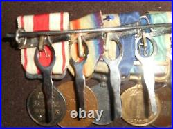 Japanese WW1 IJA medal grouping bar. RARE