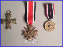 Job Lot of Original WW2 Medals