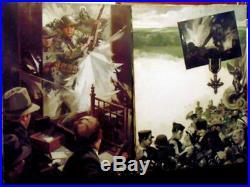 Joseph G. Chenoweth2 Vintage Original Oilscoaworld War Isoldiermedallisted