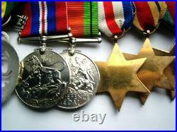 Major Hooper WW1 N Lanc Rgt Machine Gun & Tank Corps & WW2 Territorial RA medals