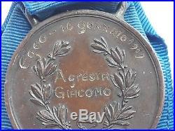 Medaglia Al Valor Militare nominativa EGEO 1919 Medal of nominative WW1