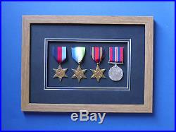 Medal Frame 3d Box Frame World War Military Medals
