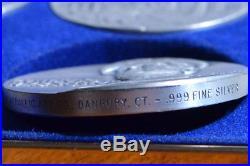 Medallic Art Co. World War II. 999 Silver Set