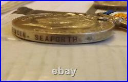 Military QSA Queens South Africa Medal 4 Bars WW1 Pair Seaforth Highlander 2903
