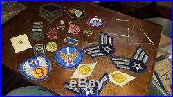 NAMED WW2 US Army Military Uniforms Prisoner of war Medal Documentation Patches