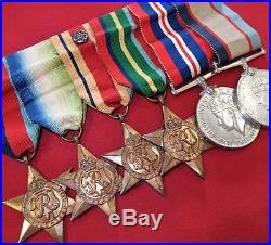 Named Ww2 War Medals Royal Australian Navy H. M. A. S. Australia Davies Ran