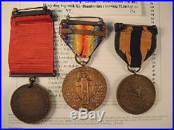 Navy good conduct medal named to Henricy dated 1915, Mexico service WW I victory