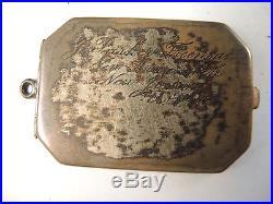 New Jersey Civil War medal 5276 to Freeman, dog tag locket WW I Am. Legion medal