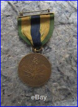 Numbered & Traceable Mexican Border/World War 1 Medal Group to African American
