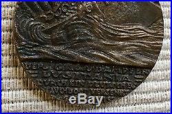 Original Karl Goetz German Medal Sinking Lusitania World War I Rare 7 Mai Cunard