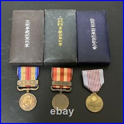 ORIGINAL WW2 Japanese Order Of The Golden Kite 5th Other medals and Bar with box