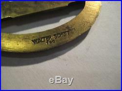 Old German submarine war badge WW I and WW II original Walter Schot rare medal