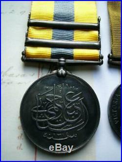 Omdurman Victorian Sudan Khedive Atbara Khartoum & WW1 medals Pte Steer Lincoln