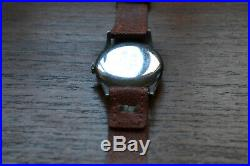 Omega Ww2 Military Watch 1943 Fleet Air Arm Hs8, Working + Medals/insignia/photo