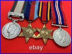 Original 1936 IGSM and World War Two Medal Grouping, POW Singapore