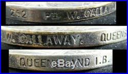 Original Australian Group 4 Medals Boer War QSA Qld IB WW1 7 Bn AIF Callaway