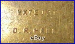 Original Australian Group 4 Medals WW2 1939-45 Pacific Stars VX72108 HALL