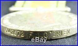 Original Australian Group 6 Medals WW2 MM, 39-45 Pacific Stars, NX42672 O'Brien