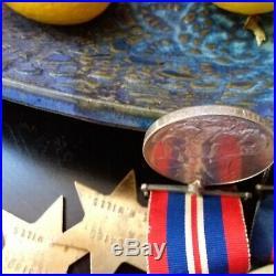 Original Australian Raaf Ww2 Medal Group Of 4 112 Squadron Killed Pilot