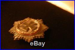 Original Issued German Cross Silver Ww2-hallmarked 800 And 1-deschler & Sohn