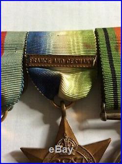 Original WW2 Royal Canadian Navy medal group