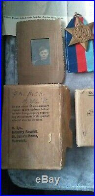 Original WW2 Royal Norfolk Regiment Soldier's Casualty Medals Fall of Singapore