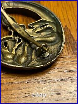 Original WW2 WWll german anti partisan badge