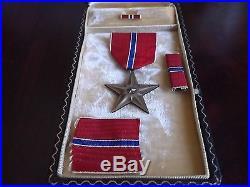Original WW 2 Unite States Bronze Star Medal With Case