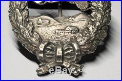 Original WW I Imperial German Pilot's Badge Prussian Air Force Medal RARE
