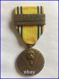 Original medal Belgian nr. 10 Inter Allied Commando WW2