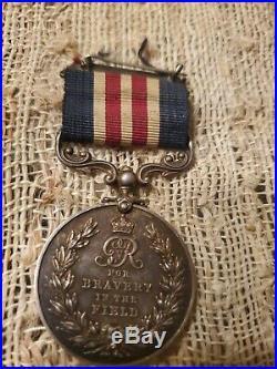 Original rare British WW1 Bravery in the field medal