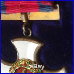 Original rare DISTINGUISHED SERVICE ORDER DSO medal WW1 era in original case
