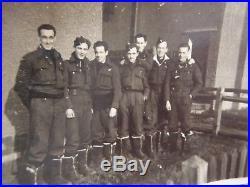 Original ww2 RAF Pathfinder DFC medal group, log book photos etc