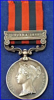 PRE WW1 BRITISH 1854 INDIA GENERAL SERVICE MEDAL WAR 2nd SEAFORTH HIGHLANDERS